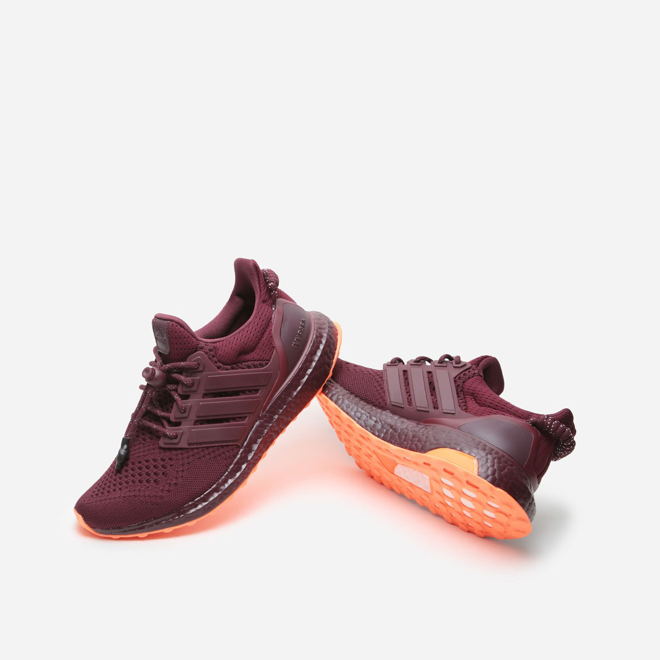 ADIDAS X BEYONCE IVY PARK ULTRA BOOST MAROON ORANGE SHOES FX3163 ...